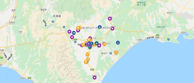 いぇーる in とかち Map イメージ