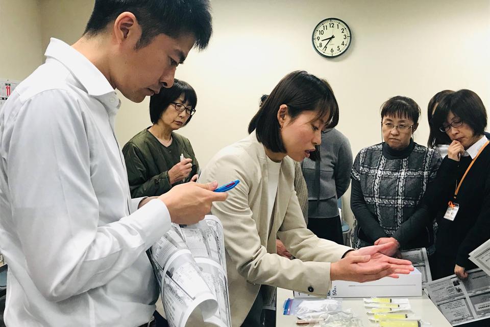 いぇーる in とかち 小児等在宅医療実技講習会(帯広厚生病院会場)